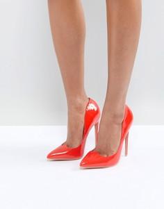 Красные туфли-лодочки Lost Ink - Красный