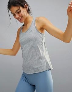 Серая майка adidas Training Prime - Серый