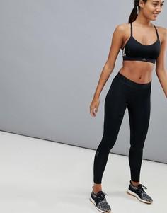 Черные леггинсы adidas alphaskin - Черный