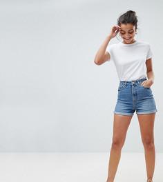 Синие джинсовые шорты в винтажном стиле ASOS TALL - Синий