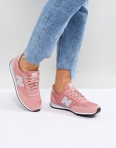 Розовые кроссовки New Balance 410 - Розовый
