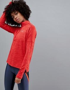 Красная куртка на молнии Nike Running - Красный