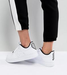 Кроссовки с отделкой в форме сердца Nike Air Force 1 07 - Белый