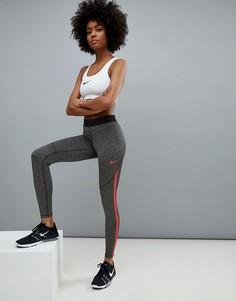 Серые леггинсы Nike Training - Мульти