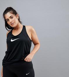 Черная спортивная майка Nike Plus Pro - Черный