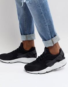 Черные кроссовки Nike Air Huarache 318429-045 - Черный