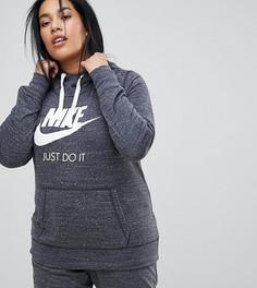 Серый худи Nike Plus Gym Vintage - Серый