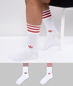 Красные носки adidas Originals adicolor CE5711 - Красный