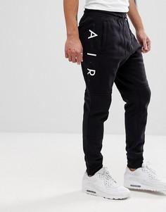 Черные джоггеры скинни Nike Air 886048-011 - Черный