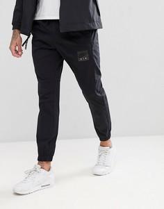 Черные джоггеры скинни Nike Air 886054-010 - Черный