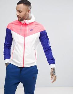 Белая куртка Nike Windrunner 727324-104 - Белый