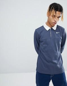 Синий топ Nike SB 885847-471 - Синий