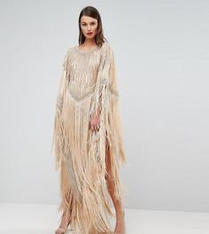 Платье миди в стиле кимоно с кисточками A Star Is Born - Мульти