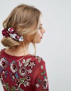 Заколка для волос с цветами Her Curious Nature - Мульти