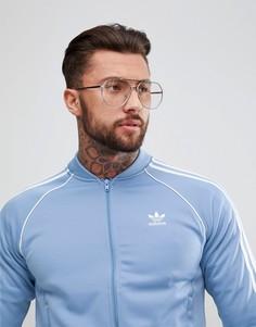 Синяя спортивная куртка adidas Originals adicolor CW1258 - Синий