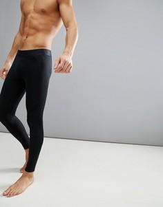 Черные компрессионные леггинсы adidas Training CF7339 - Черный