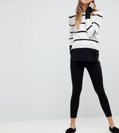 Черные джинсы скинни с заниженной талией и съемной вставкой для живота ASOS Maternity Whitby - Черный