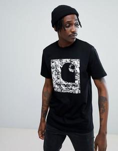 Черная футболка Carhartt WIP Collage - Черный