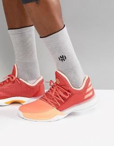Красные кроссовки adidas Basketball x Harden Vol 1 Dawn AH2119 - Белый