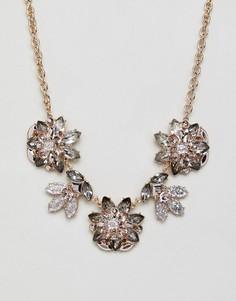 Броское ожерелье с цветочной отделкой ALDO - Мульти