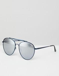 Солнцезащитные очки-авиаторы Quay Australia Lickety Split - Синий
