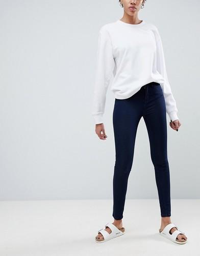 Облегающие джинсы с классической талией Waven Asa - Темно-синий