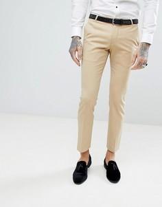 Супероблегающие брюки в стиле смокинга Noose & Monkey - Золотой