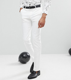 Супероблегающие брюки Noose & Monkey TALL - Белый