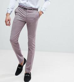 Супероблегающие брюки под смокинг Noose & Monkey TALL - Фиолетовый