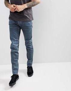 Серые джинсы слим G-Star 5620 3D - Серый