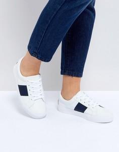 Кроссовки на шнуровке ASOS DINELLA - Белый