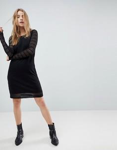 Трикотажное платье Bellfield Viviana - Черный