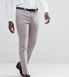 Облегающие брюки из твида Noak - Розовый