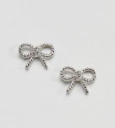 Серебряные серьги в винтажном стиле Olivia Burton - Серебряный