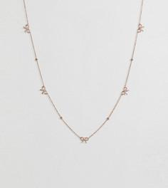 Ожерелье с позолотой 18 кт Olivia Burton - Золотой