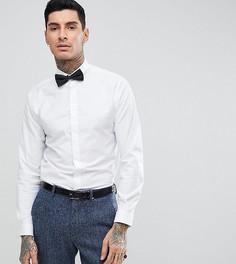 Приталенная рубашка и галстук-бабочка Heart & Dagger - Белый