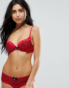 Бюстгальтер Hunkemoller Red Temptation Clarissa - Черный