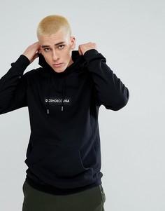 Худи с вышивкой логотипа DC Shoes - Черный