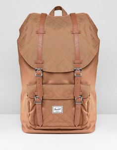 Стеганый рюкзак объемом 25 литров Herschel Supply Co Little America - Коричневый