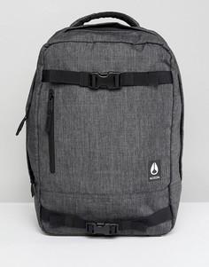 Рюкзак с креплением для скейтборда Nixon Del Mar II - Серый