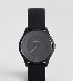 Черные силиконовые часы Sekonda эксклюзивно для ASOS - Черный