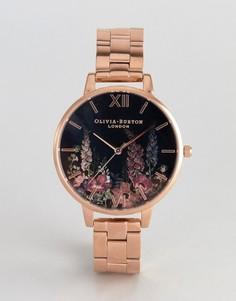 Наручные часы цвета розового золота Olivia Burton OB16WG45 - Золотой