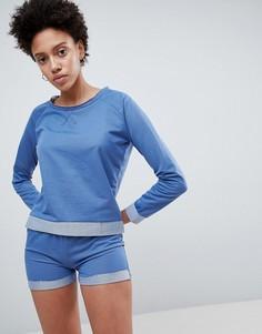 Темно-синяя пижама Lazy Days - Темно-синий