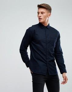 Рубашка с принтом в виде брызг краски Esprit - Черный