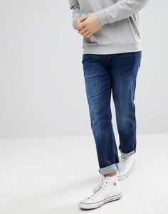 Синие джинсы прямого кроя Esprit - Синий