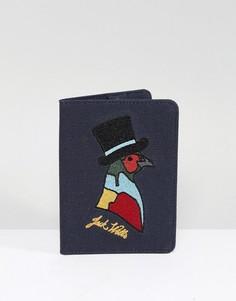 Обложка для паспорта Jack Wills Whitby - Темно-синий