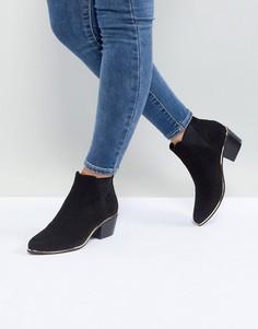 Ботинки челси в стиле вестерн ASOS RENO - Черный