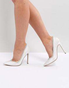 Туфли на высоком каблуке ASOS PHOENIX - Кремовый