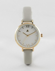 Золотистые с серым часы ASOS CURVE - Серый