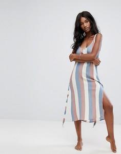 Пляжное платье в полоску Zulu & Zephyr - Мульти